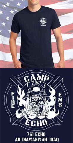 Camp Echo Fire Department Maltese Cross