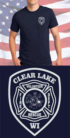 Clear Lake Fire Department Maltese Cross