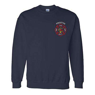 Embroidered DryBlend 9oz. 50/50 Crewneck Sweatshirt with Scramble Maltese - Gildan - G120