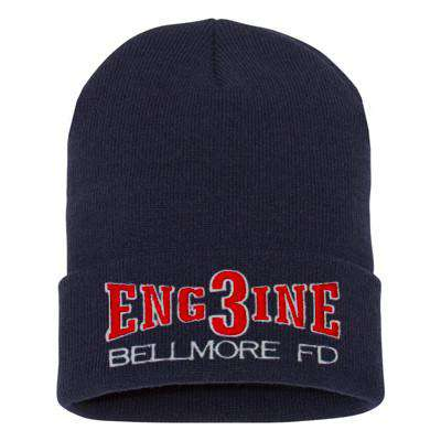 Fire Department Engine Company Winter Hat - EMB