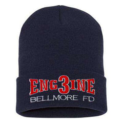 Hat Fire Department Engine Company Winter Hat - EMBFire Department Clothing
