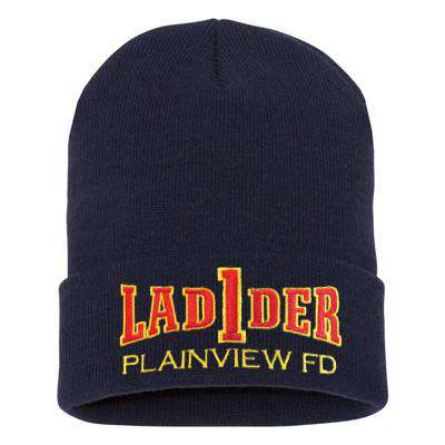 Fire Department Ladder Company Winter Hat - EMB