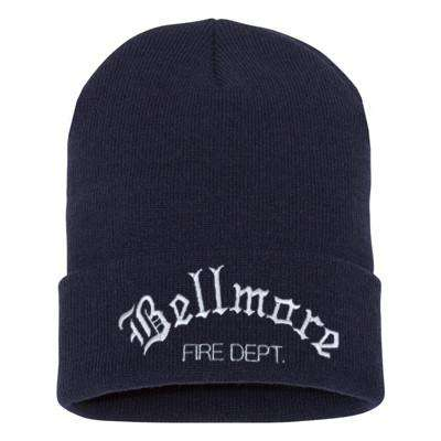 Fire Department Old English Winter Hat
