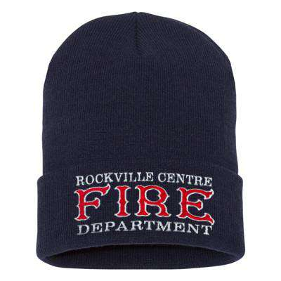 Fire Department Old Style Winter Hat - EMB