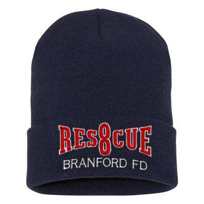 Fire Department Rescue Company Winter Hat - EMB