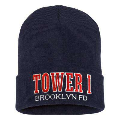Fire Department Tower Company Winter Hat - EMB
