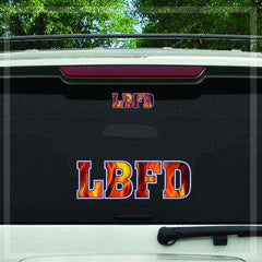 Stickers Custom Digital Fire Department Fire Decal - DIGFire Department Clothing