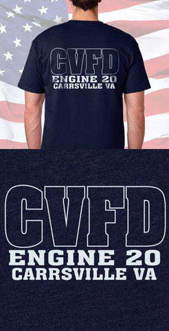Carrsville Fire Department Back Design