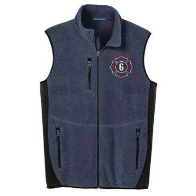 Vest Pro Fleece Full-Zip Vest - Port Authority R-Tek - Style F228Fire Department Clothing