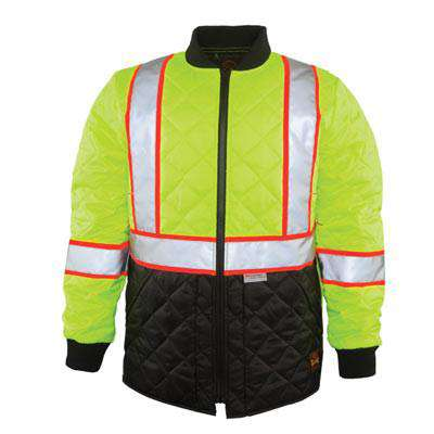 The Hi-Vis Quilted Jacket - Game Sportswear - Style 1275