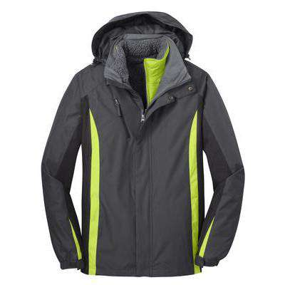Jacket Colorblock 3-in-1 Winter Jacket - Port Authority - Style J321Fire Department Clothing