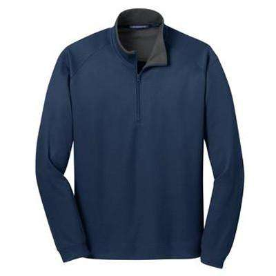 Vertical Texture 1/4-Zip Pullover - Port Authority- Style K805Fire Department Clothing