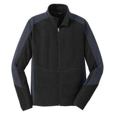 Colorblock Microfleece Jacket - Port Authority- Style F230