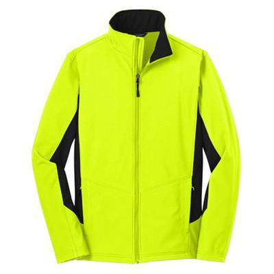 Jacket Core Coloroblock Soft Shell Jacket - Port Authority - Style J318Fire Department Clothing