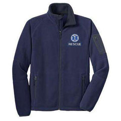 Jacket Enhanced Fleece Full-Zip Jacket - Port Authority- Style F229Fire Department Clothing