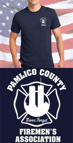 Screen Print Design Pamlico County Fire Department Maltese CrossFire Department Clothing