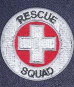 Customization Left Chest FD & EMS Rescue Squad DesignFire Department Clothing