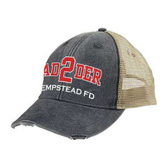 Hat Off-Duty Fire Department Ladder Ollie Cap - Adams OL102 - EMBFire Department Clothing