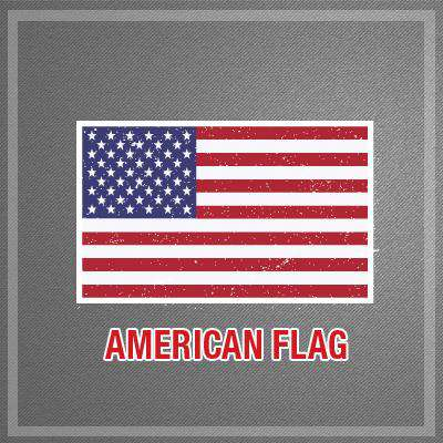 Stickers Digital Flag Decals Set - DIGFire Department Clothing