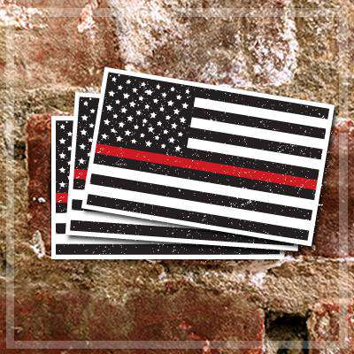 Digital Flag Decals Set - DIG
