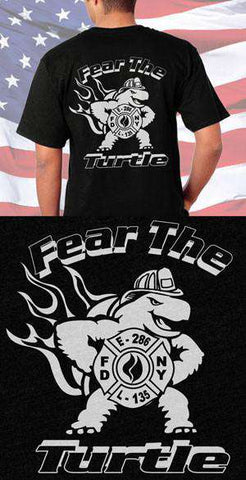FDNY Fear The Turtle Back Design