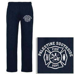 Cad-Cut Garment Printed Maltese Cross Sweatpants - Gildan - Style 12300Fire Department Clothing