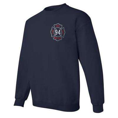 Sweatshirt Heavy Blend Crewneck Sweatshirt - Gildan - Style G180Fire Department Clothing
