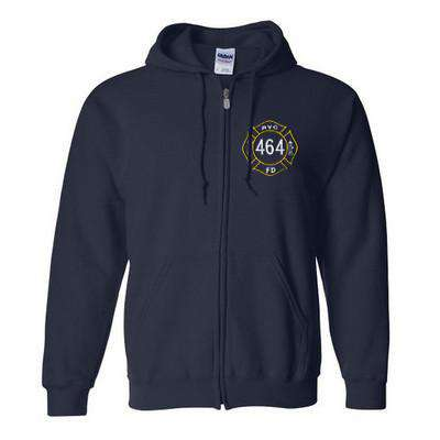 Heavy Blend Full-Zip Hooded Sweatshirt - Gildan - Style G186