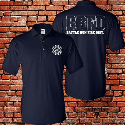 Fireman Special - Custom Polo Shirt - G880Fire Department Clothing