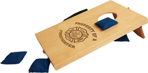 Laser Engraved Accesory Mini Bean Bag Toss/Cornhole Game-GFT229 -LSRFire Department Clothing