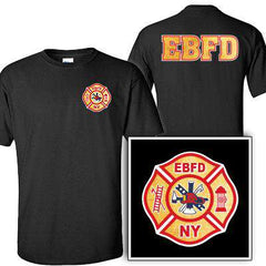 Customization Custom Printed Gold Foil Maltese Pattern T-Shirt - Gildan G200 - DIGFire Department Clothing