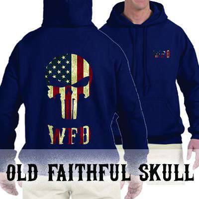 Customization Printed Custom Skull Sweatshirt - SS4500 - DTGFire Department Clothing