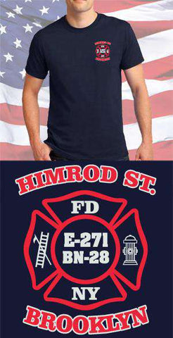 Screen Print Design Himrod Street Maltese CrossFire Department Clothing