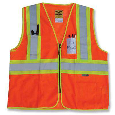 Vest The D.O.T. Mesh Vest with Pockets - Game Sportswear - Style I-85Fire Department Clothing