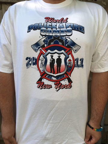 World Police & Fire Games Printed Shirt