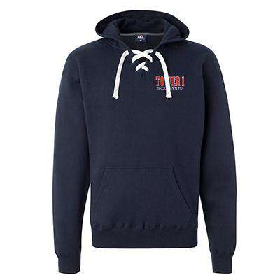 Sweatshirt Hooded Hockey Style Sweatshirt - J America - Style JA8830Fire Department Clothing