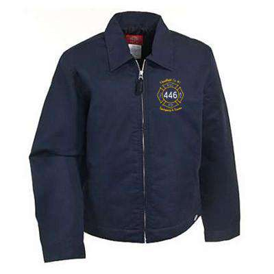 Jacket Lined Eisenhower Jacket - Dickies - Style JT15Fire Department Clothing
