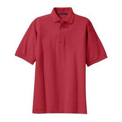 Pique Knit Polo - Port Authority - Style K420