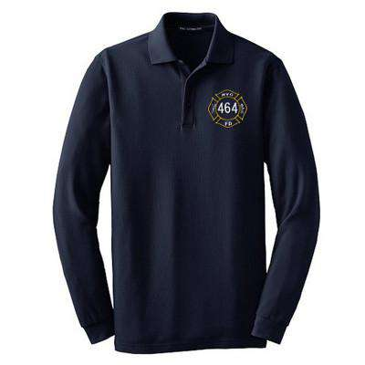 Polo Long Sleeve EZCotton Pique Polo - Port Authority - K800LSFire Department Clothing