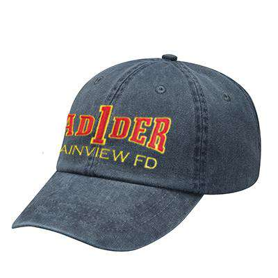 Off-Duty Fire Department Ladder Company Pigment Dyed Cap - Adams - AD969