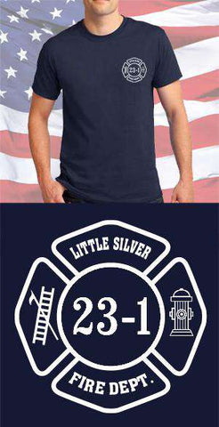 Little Silver Fire Department Maltese Cross
