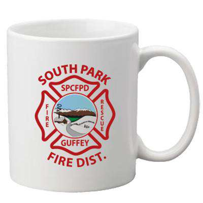 Sublimation Accessory Custom Fire Department Logo MugsFire Department Clothing