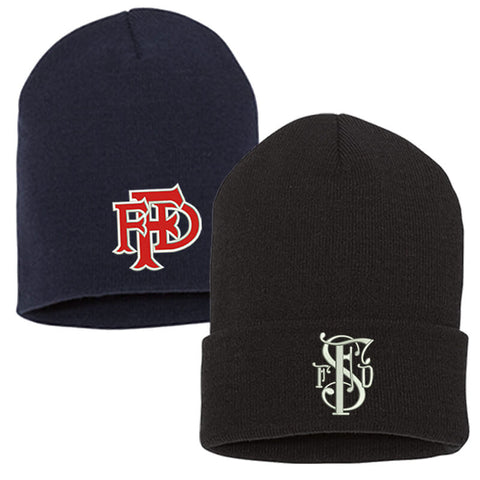 Fire Department Custom Winter Hat - EMB