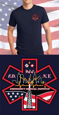 Screen Print Design EMD Maltese CrossFire Department Clothing