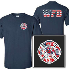 Customization Custom Printed Flag Maltese Pattern T-Shirt - Gildan G200 - DIGFire Department Clothing