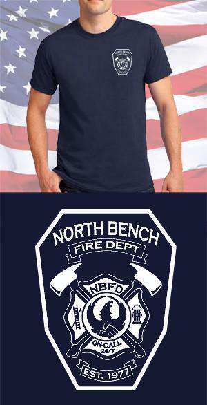 North Bench Fire Department Maltese Cross