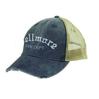 Off-Duty Old English Letter Style Ollie Cap - Adams OL102 - EMB
