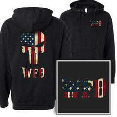 Customization Custom Old Faithful Skull Sweatshirt - Independent SS4500 - DTGFire Department Clothing
