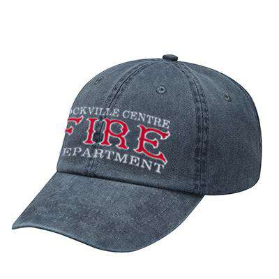 Off-Duty Fire Department Old Style Pigment Dyed Cap - Adams - AD969