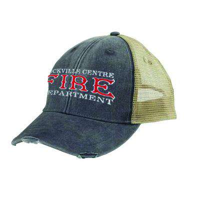 Off-Duty Fire Department Old Style Ollie Cap - Adams OL102 - EMB